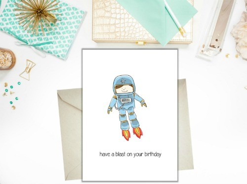 Birthday Card - Have a blast