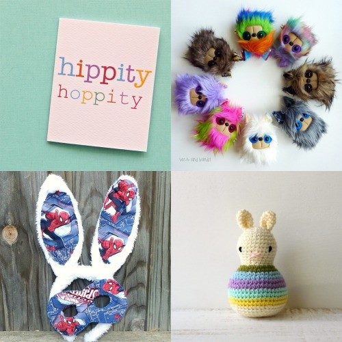 Easter Bunny finds by Janeys Handmade