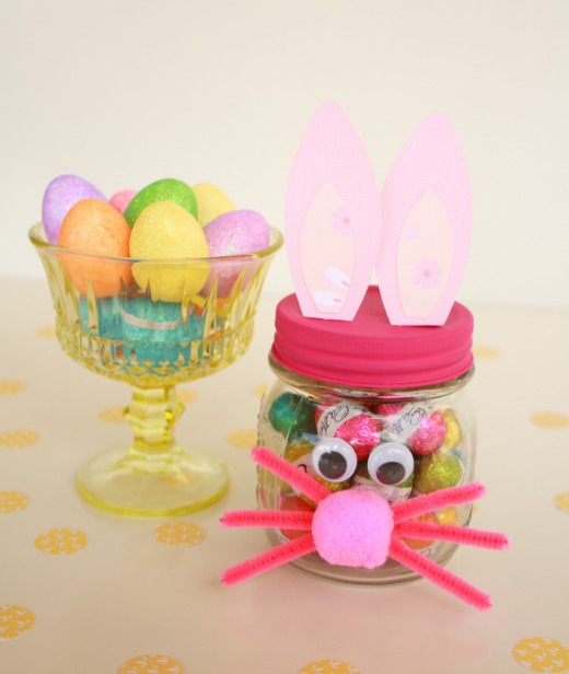 DIY Easter Bunny Gift Jar