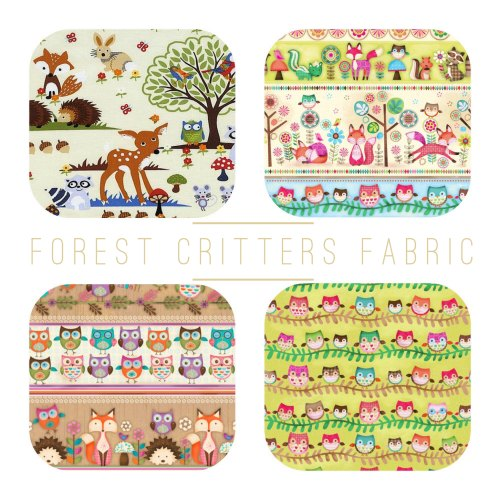 Forest Critters Fabric