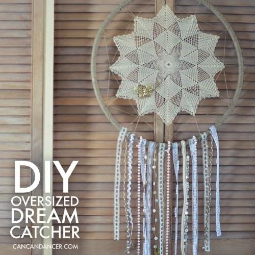 Make an oversized Dream Catcher