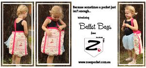 Zoe's Pocket Ballet Bags