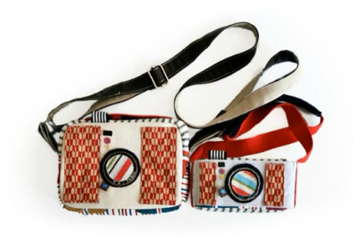 Camera shaped bag Set