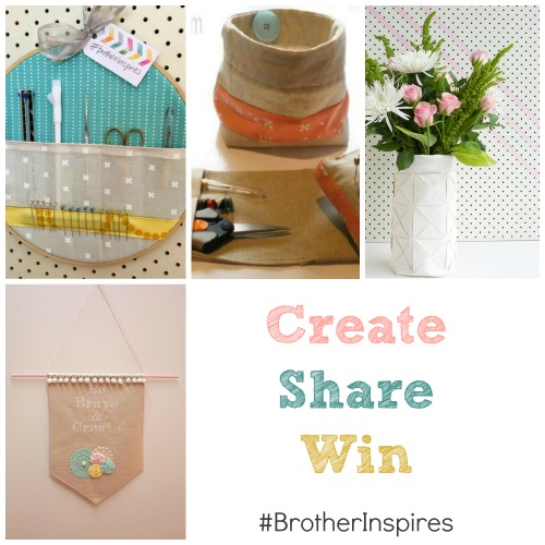 Create Share and Win #BrotherInspires