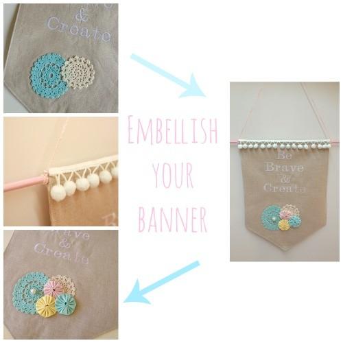 Embellish your Banner