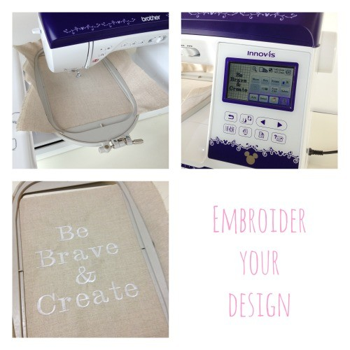 Embroider your design
