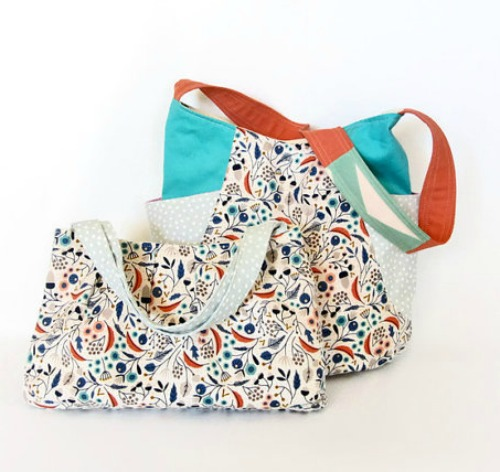 Floral Tote matching set