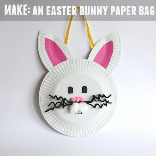 Make an Easter Bunny Paper Bag