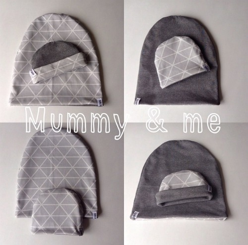 Mummy and me beanie Sets