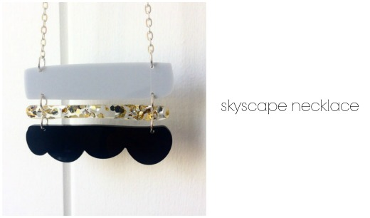 Skyscape necklace