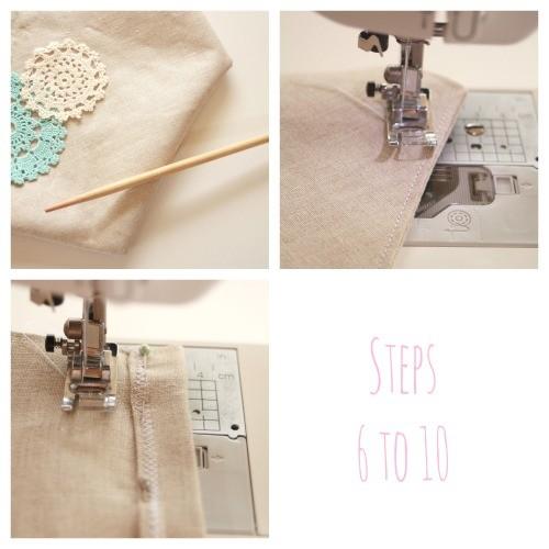 Banner Steps 6 - 10