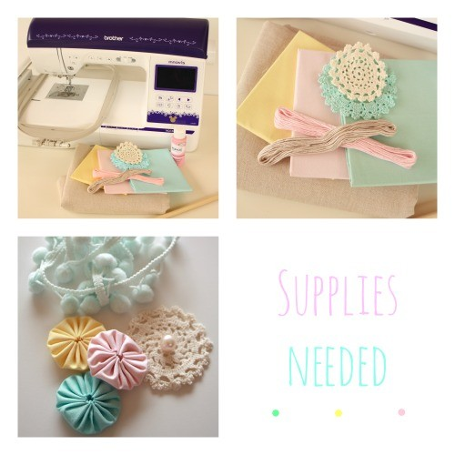 Supplies Needed Fabric Banner