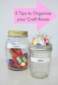 5 Tips to Organise your Craft Room