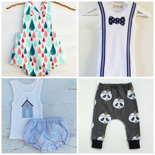 Handmade Baby Boy Clothing Series