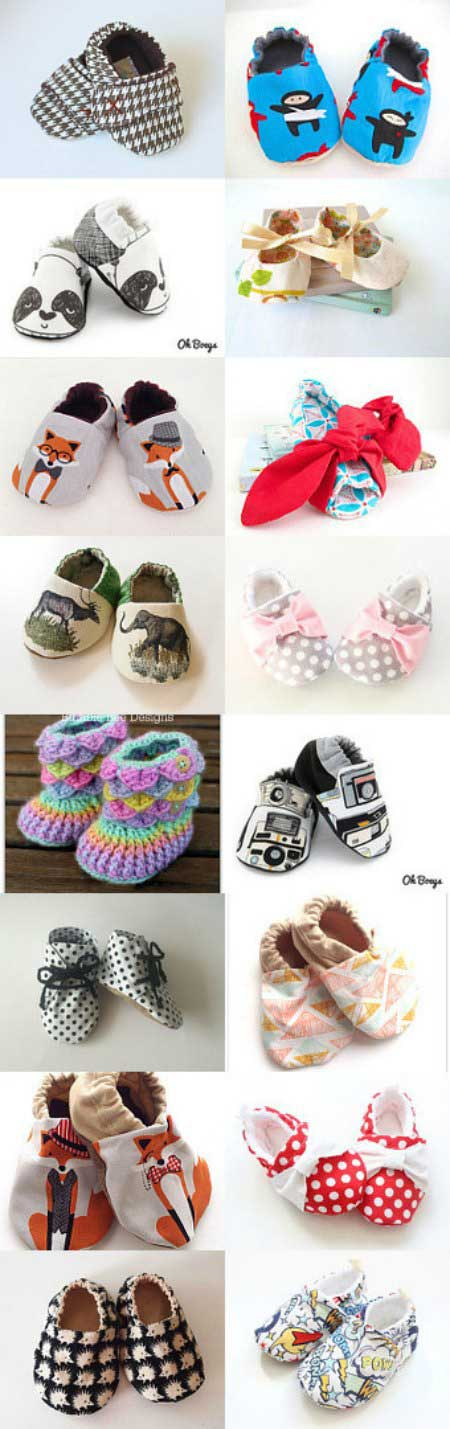 Baby-Shoes-Collection Etsy Treasury