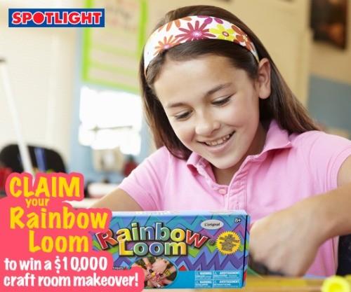 Claim your Rainbow Loom and WIN