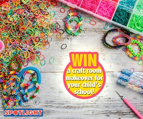 Create and Win with Rainbow Loom and Spotlight