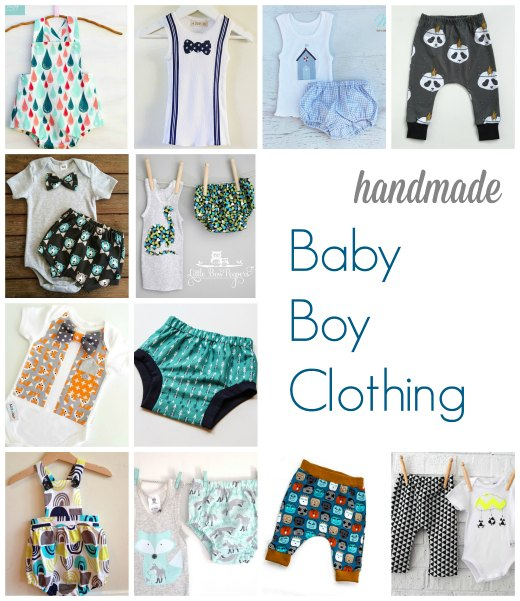 Handmade Clothing for Baby Boys