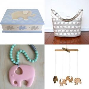 Handmade Elephants