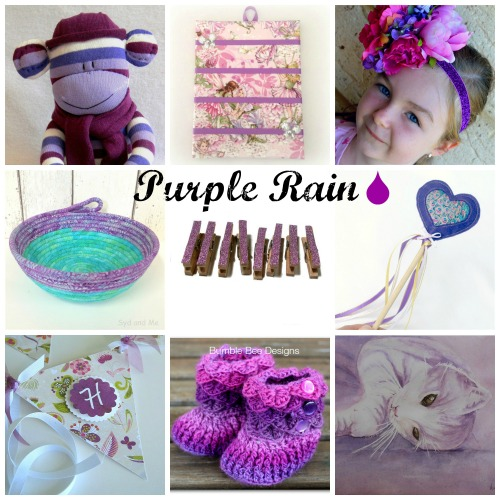 Purple Rain at the Handmade Cooperative