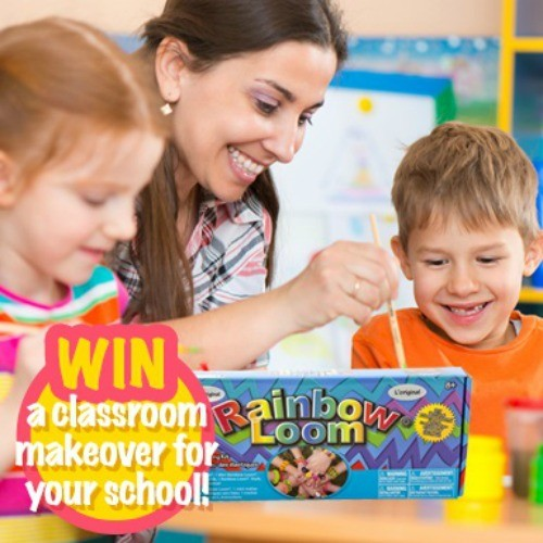 Win a classroom makeover