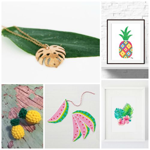 Etsy Tropical Finds