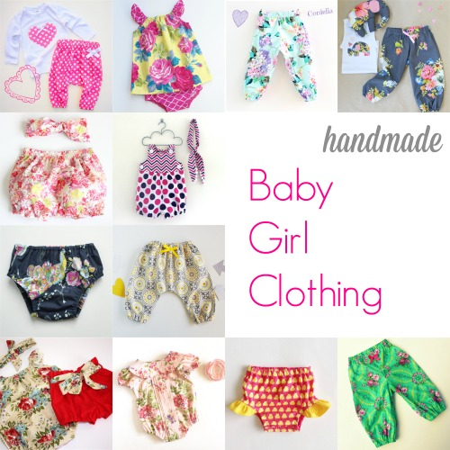 Handmade Baby Girl Clothing