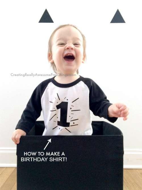 Make a Birthday Tshirt