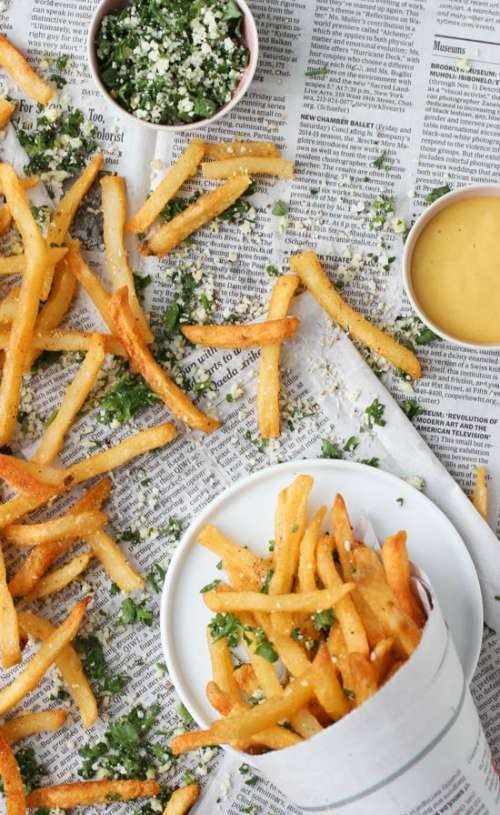 herb seasoned french fries summer recipe