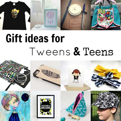 Gift Ideas for Tweens and Teens