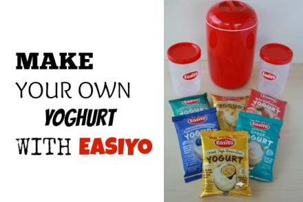 MAKE YOUR OWN YOGHURT WITH EASIYO