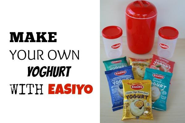 MAKE YOUR OWN YOGHURT WITH EASIYO
