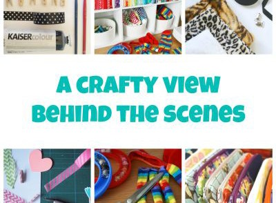 A crafty view behind the scenes