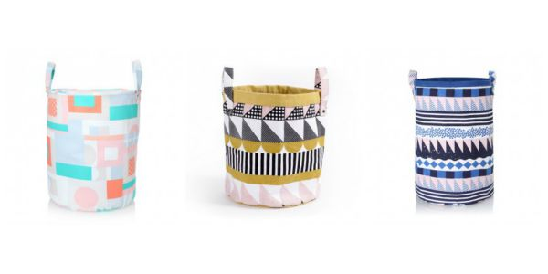 Beautiful fabric baskets from Arro Home