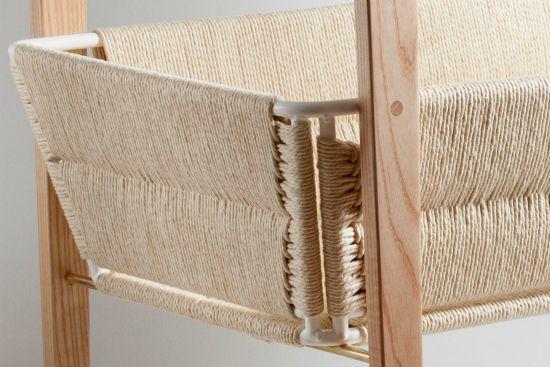 Change Table basket using Danish Cord