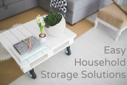 Easy Household Storage Solutions