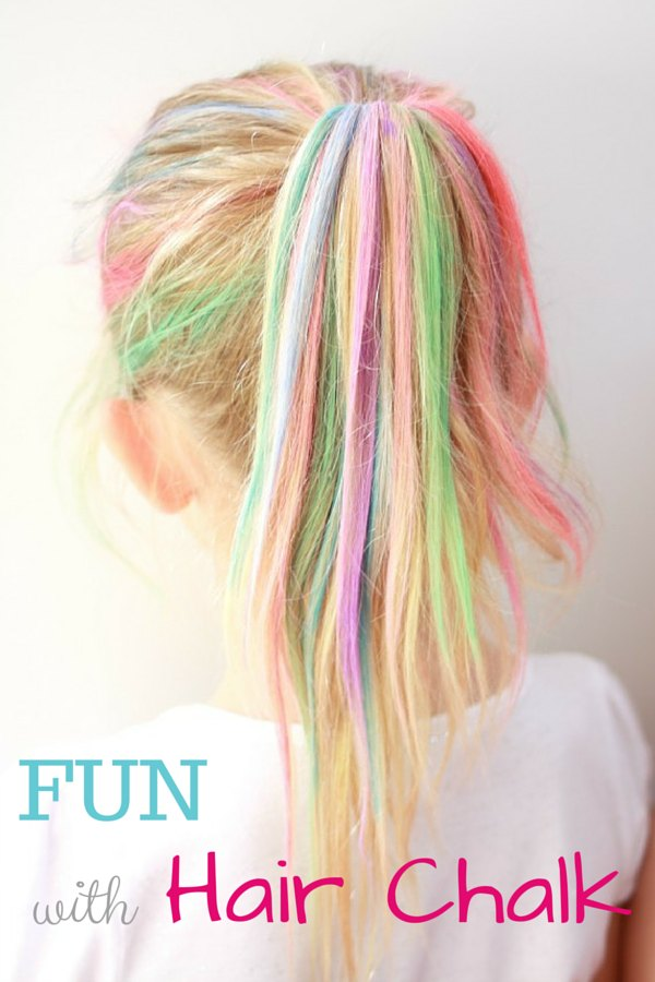 FUN with Hair Chalk