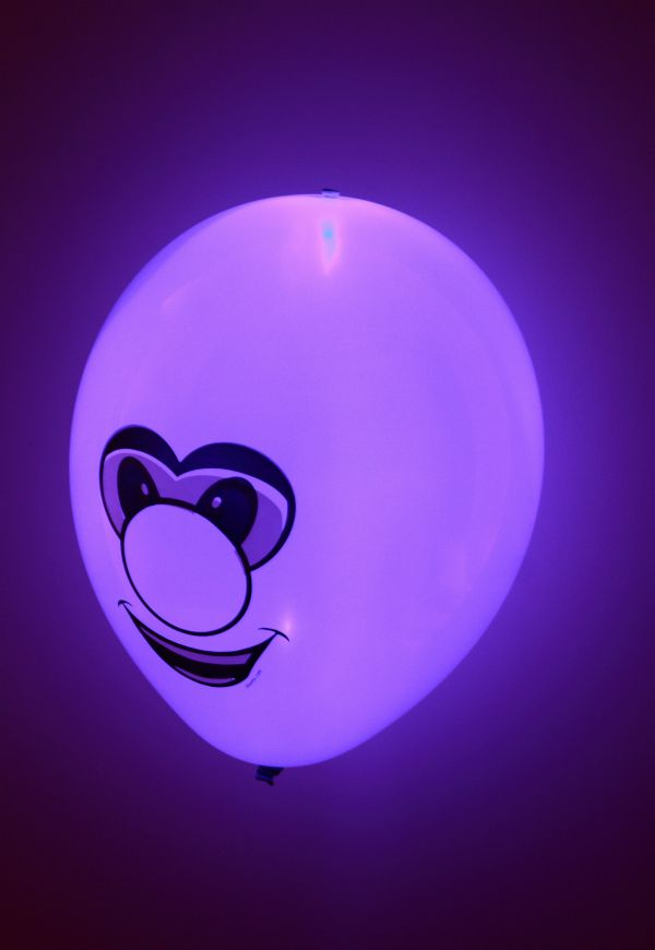 Faces light up Balloon