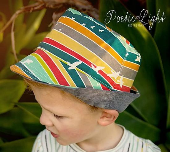 Fat Red Bird Fedora Pattern
