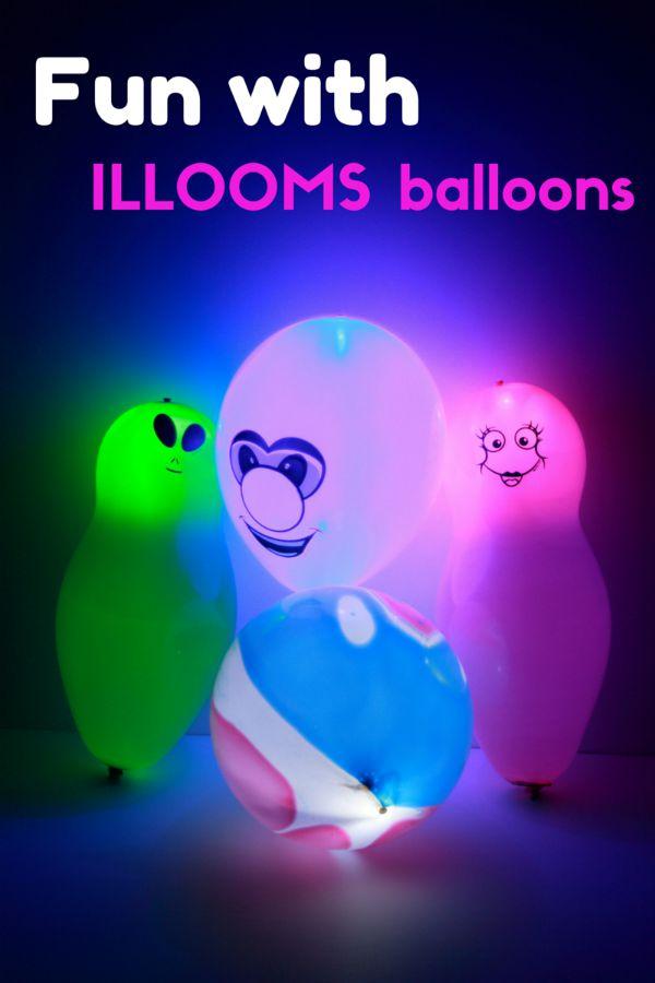 Fun with ILLOOMS Balloons