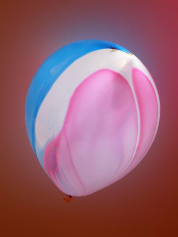Marble Light Up Balloon