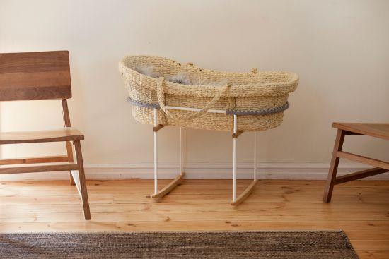 Nature Baby Moses basket - Vos Kho Rocker