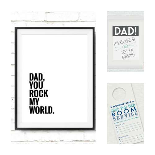 Printables for Fathers Day