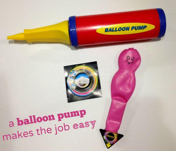 Use a balloon pump