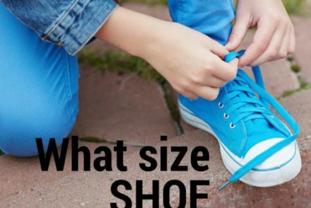 What size shoe should my little one wear