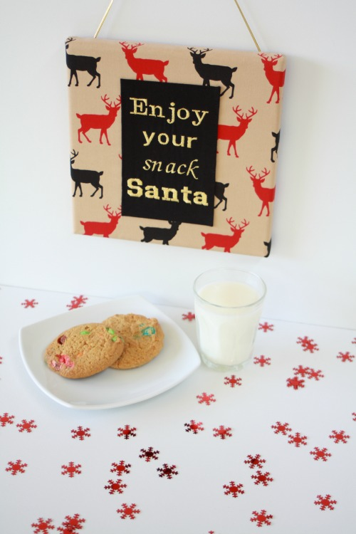 Enjoy your Snack Santa all done