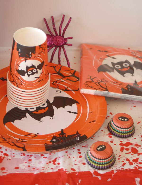 Bat party decoration set