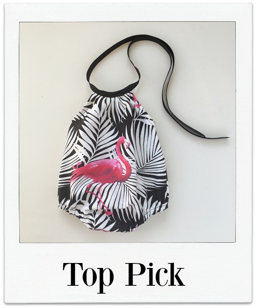 Top Pick - Flamingo Palms Playsuit