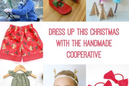 Dress up this Christmas with the Handmade Cooperative