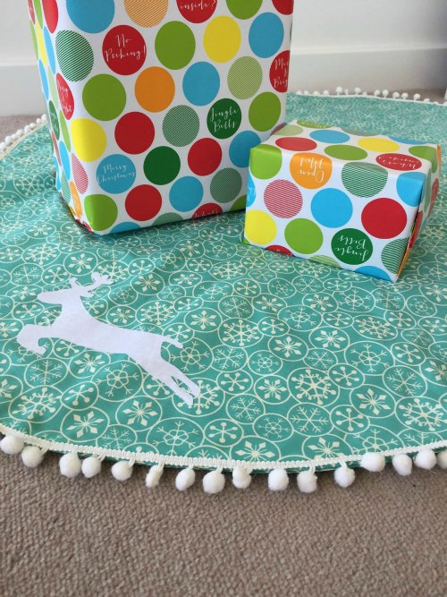 Christmas Tree Skirt by Sweet Little Pretties